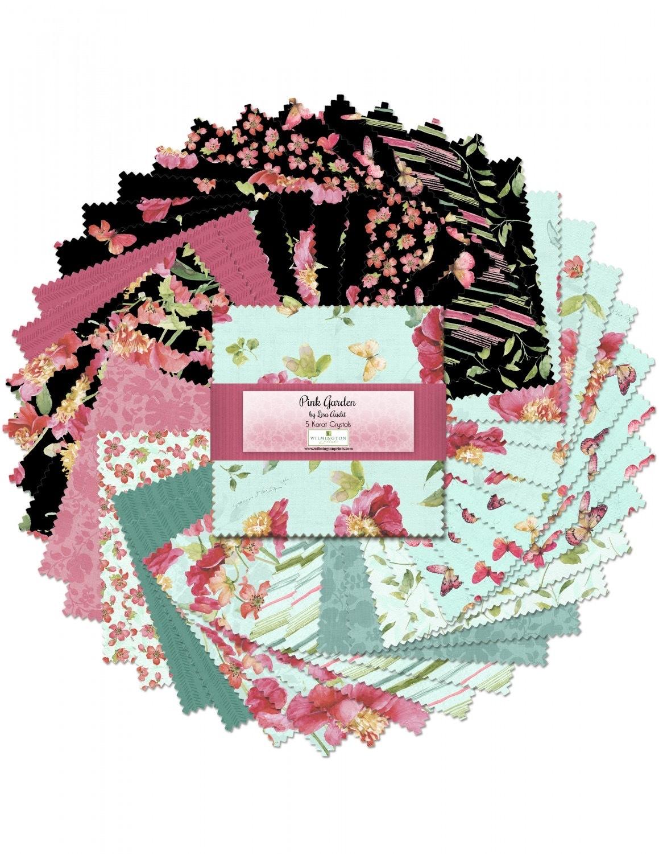 Pink Garden Charm Pack 56291