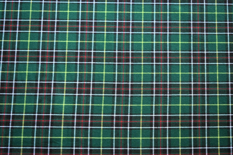 "Newfoundland Tartan - Poly/Cotton - 45"" wide - 1/2m cut 56381"