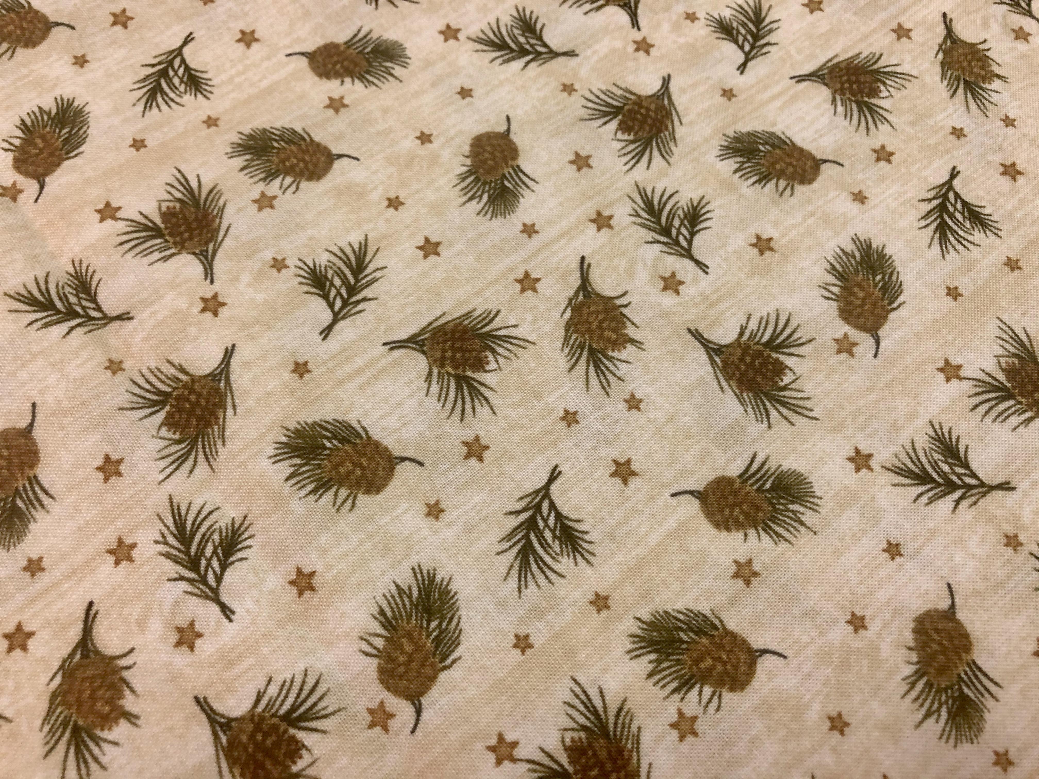 Pine and Stars  - Bernatex - 1/2m cut 56392