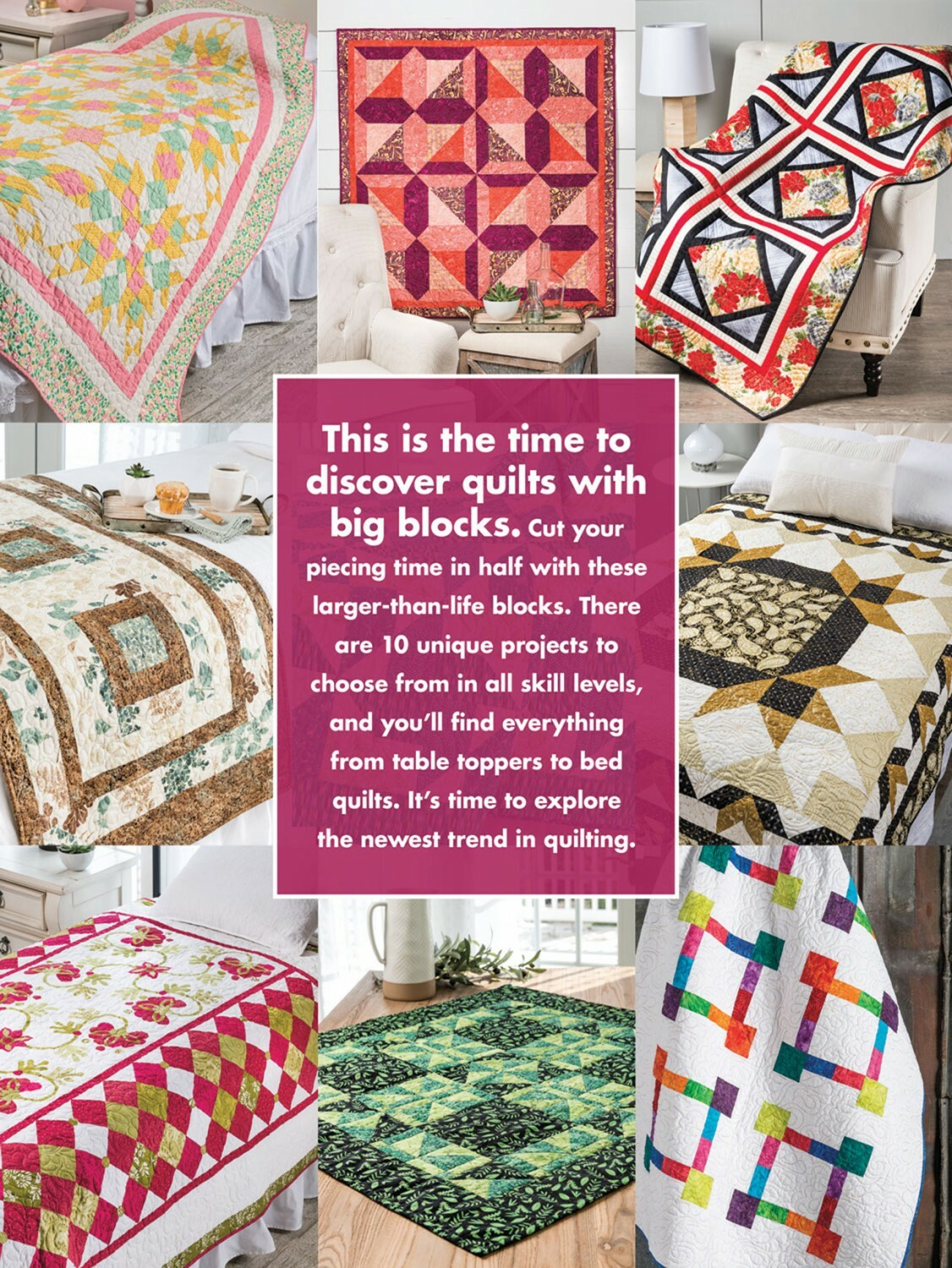 Big Blocks Quilts Book