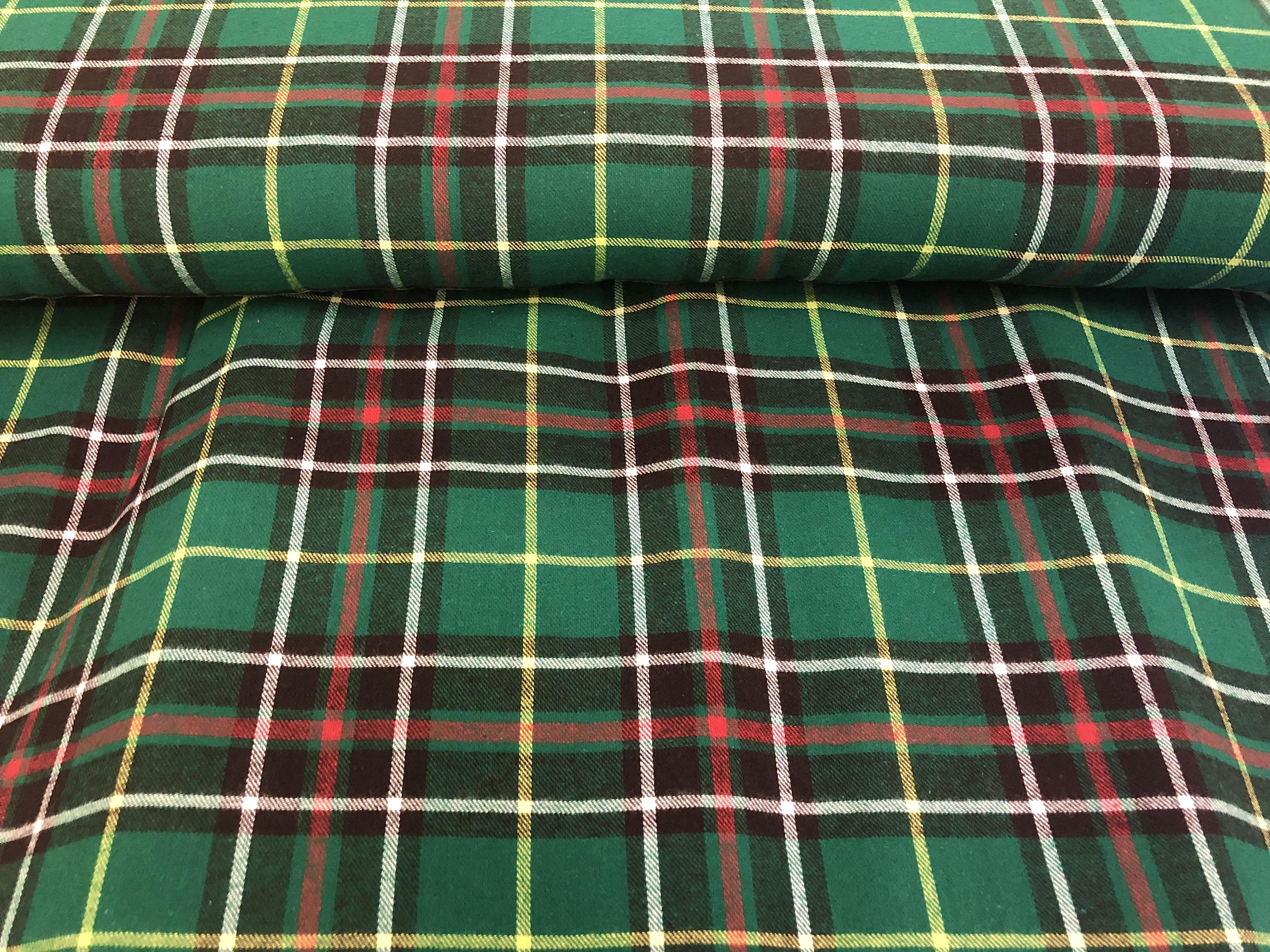 """Newfoundland Tartan - Flannel - 60"""" wide - 1/2m cut 56436"""
