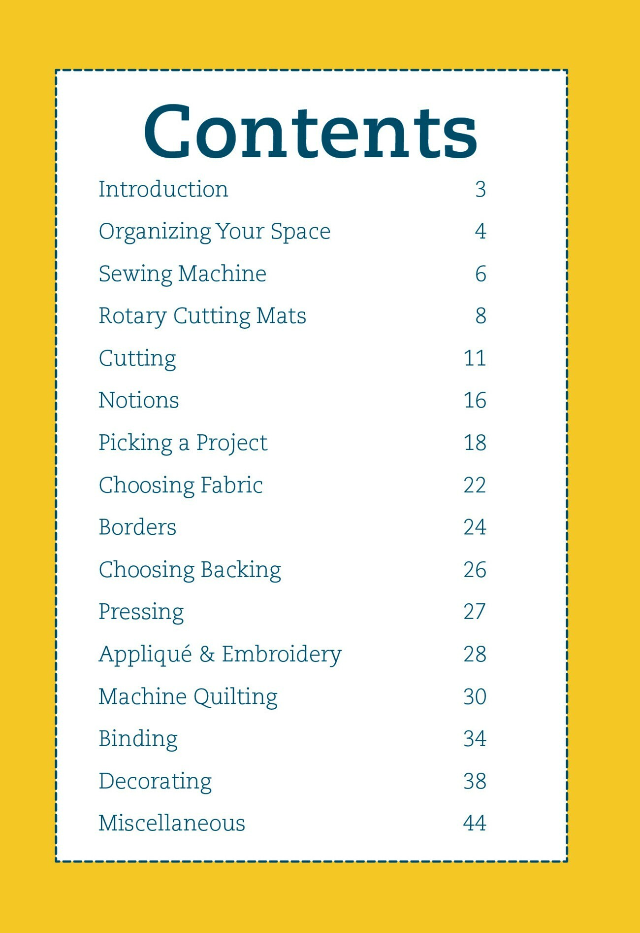 Pocket Guide to Quilting: Tips and Tricks
