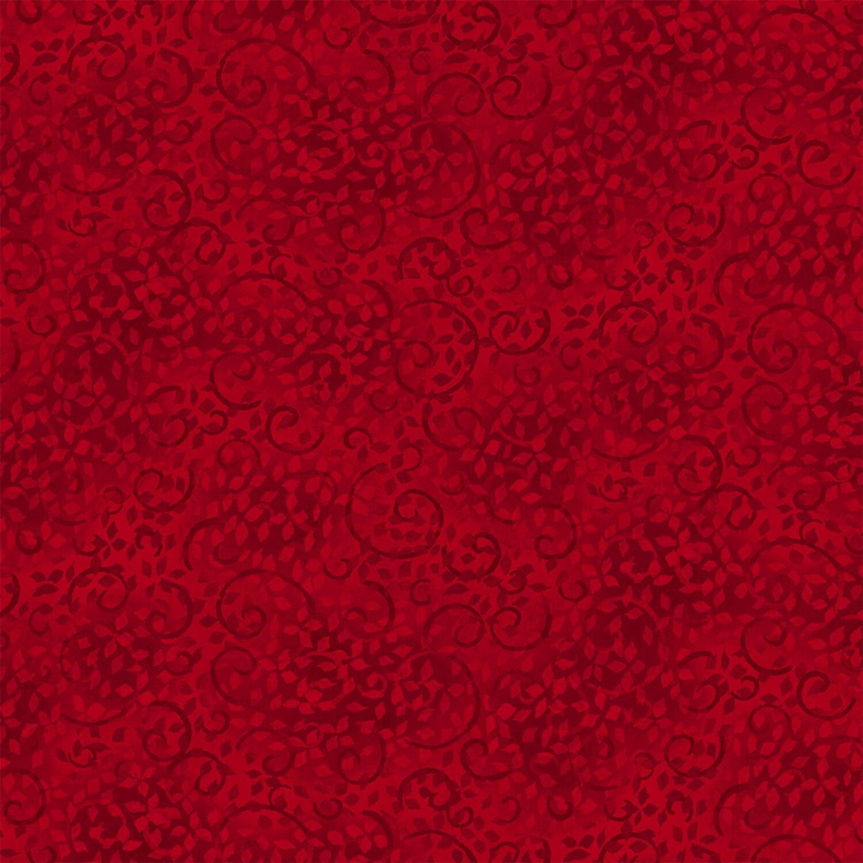 Ruby Scroll - Wilmington Fabrics - 1/2m cut 56491