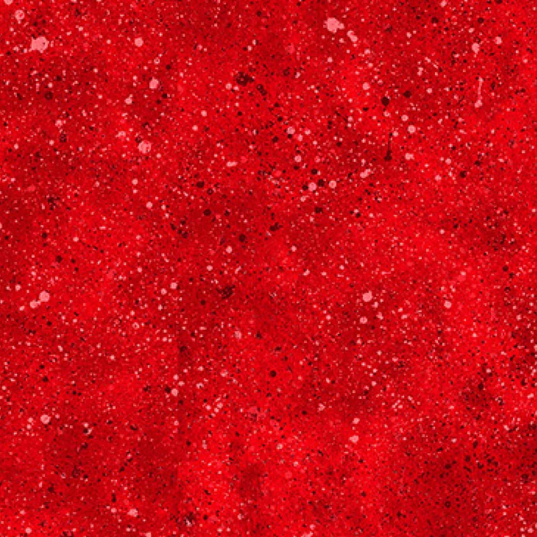 Red Spatter - Wilmington Fabrics - 1/2m cut 56489
