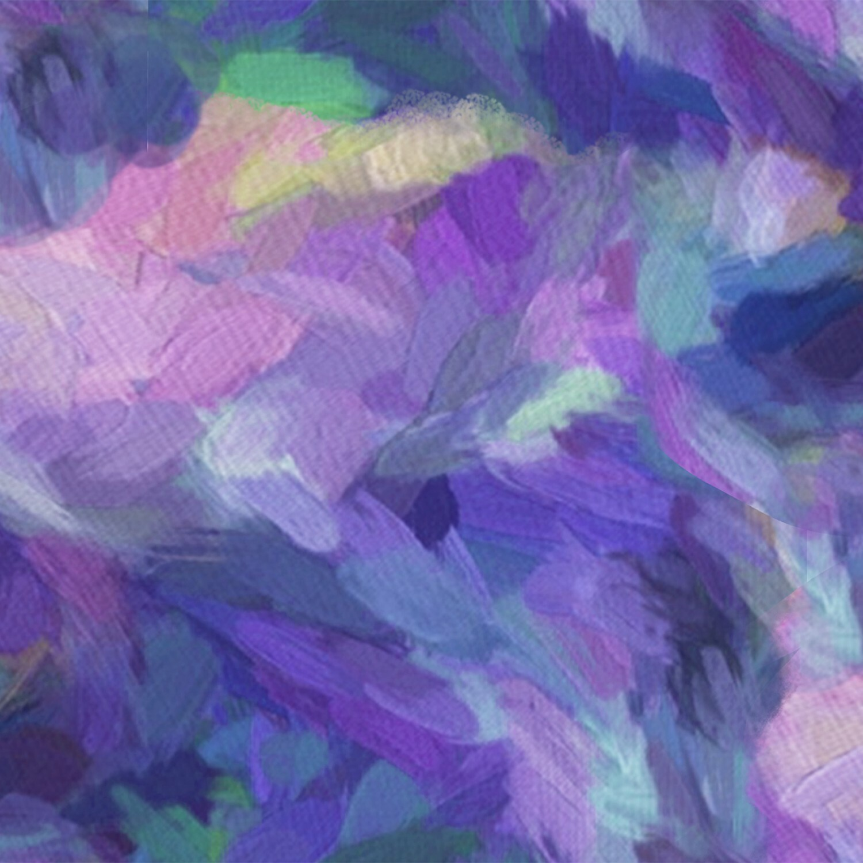 Purple Texture - Good Kitty - 1/2m cut 56502