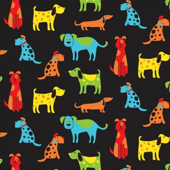 Dogs - Happy Pets- 1/2m cut 56520
