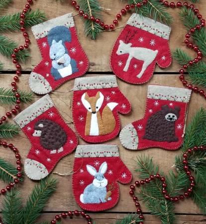 Christmas Critters Ornament Kit 56539