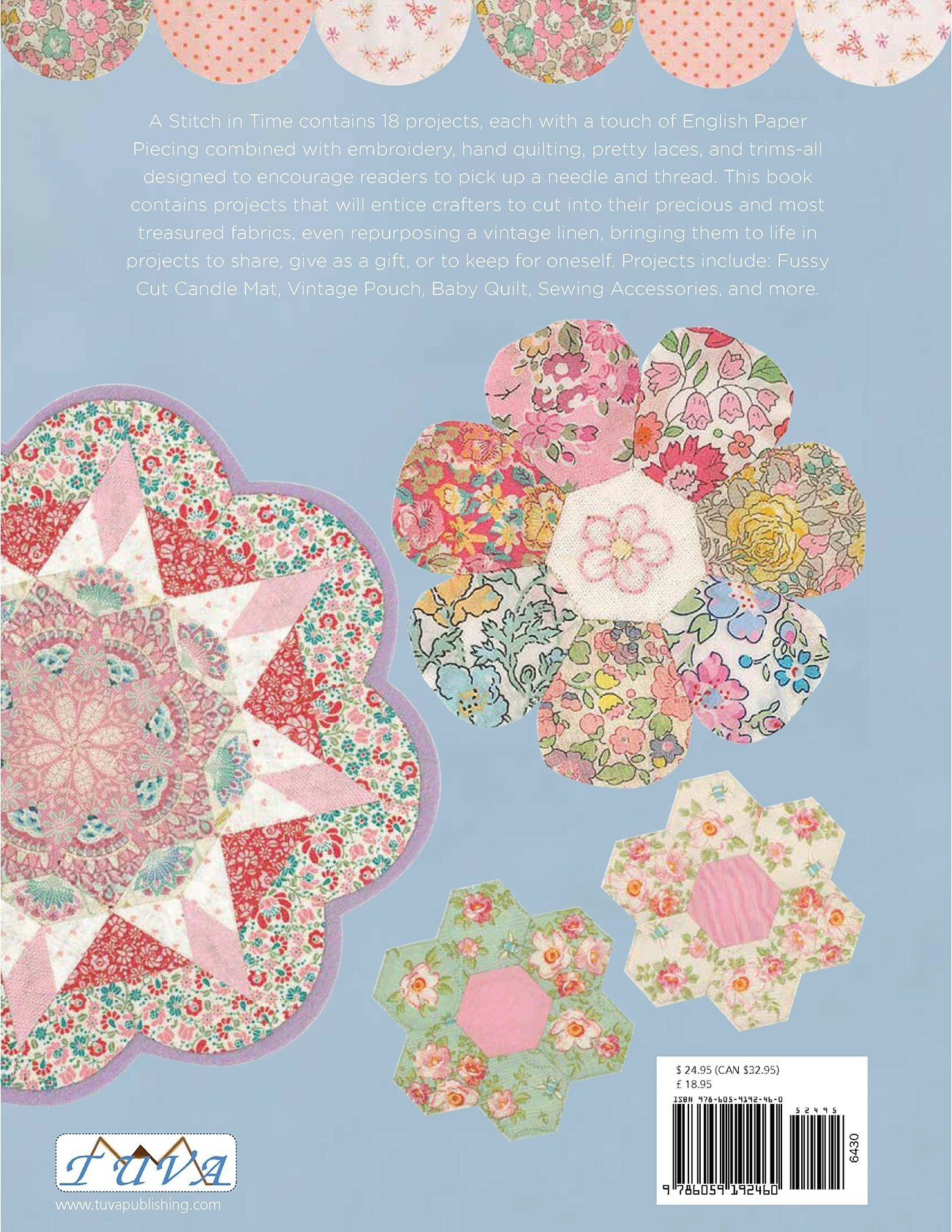 English Paper Piecing: A Stitch In Time