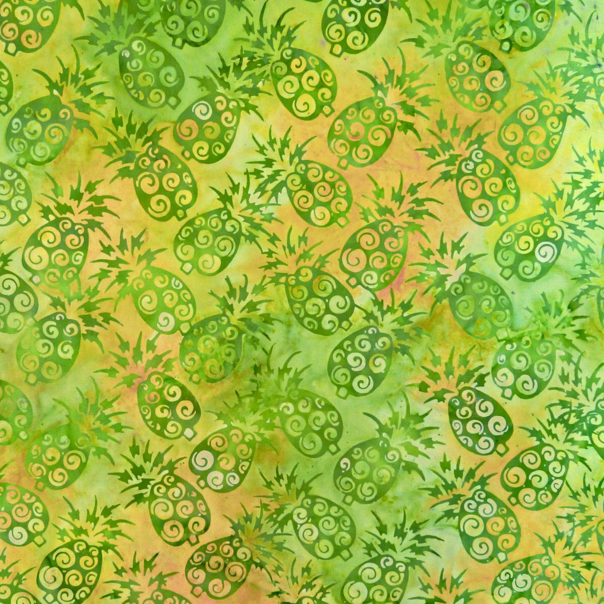Pineapple - Mohave  - Batik - 1/2m cut 56586