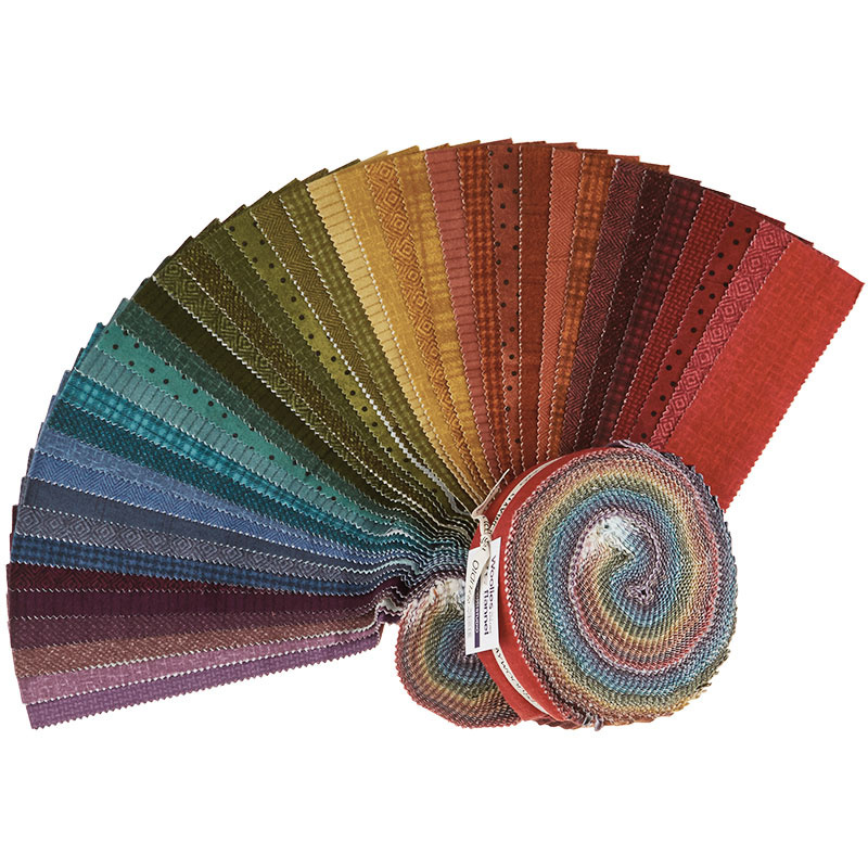 Woolies Flannel Jelly Roll - Vol. 2 Colours