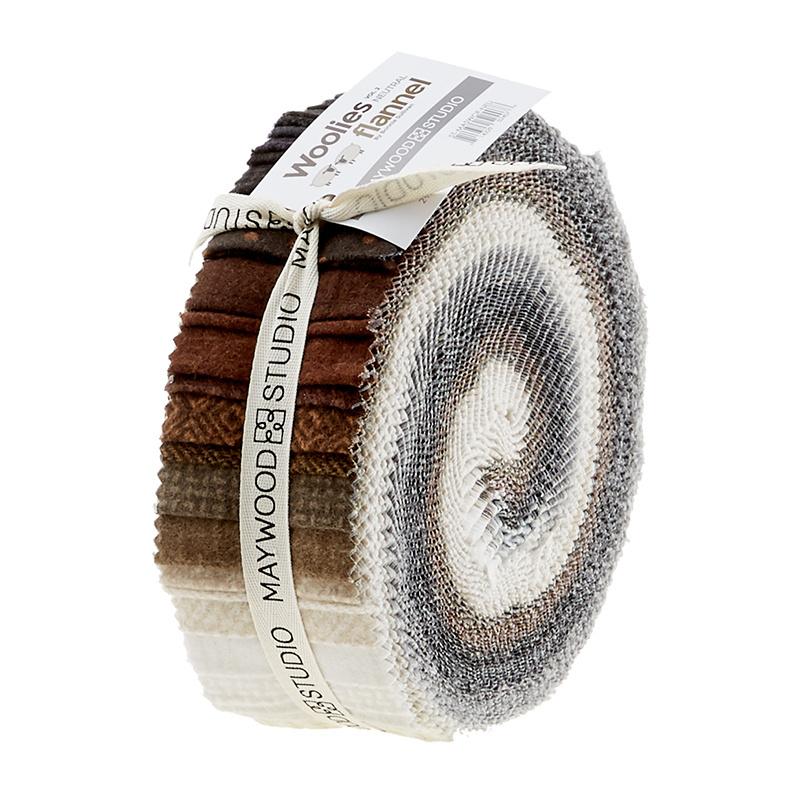 Woolies Flannel Jelly Roll - Vol. 2 Neutrals 56594