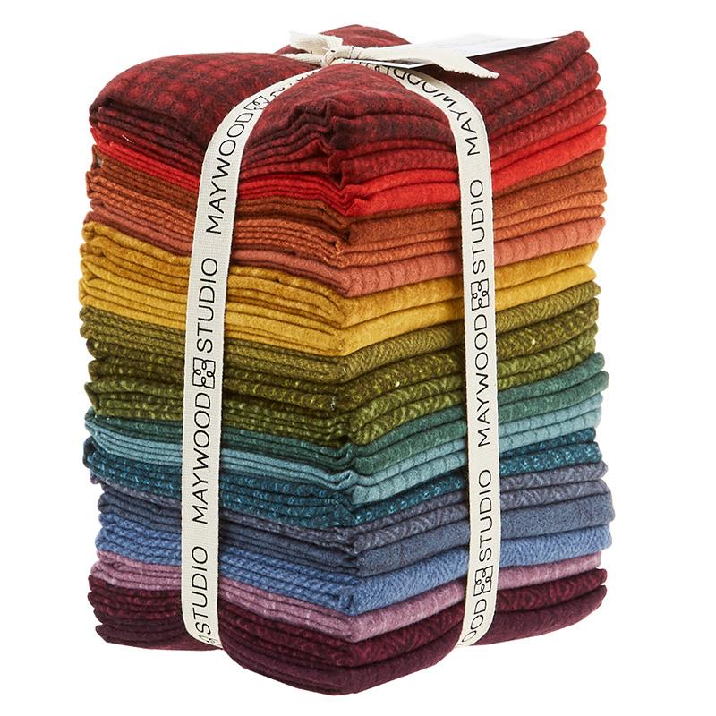 Woolies Flannel Fat Quarter Bundle - Vol. 2 Colours 56596
