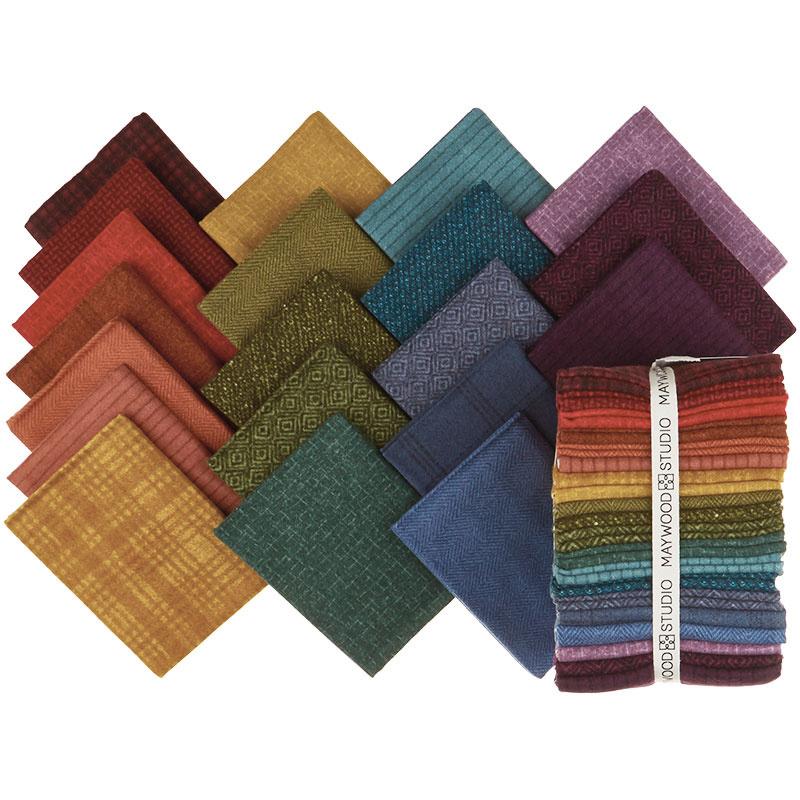 Woolies Flannel Fat Quarter Bundle - Vol. 2 Colours