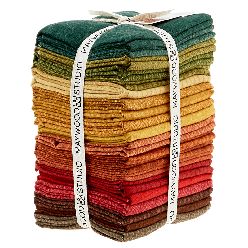 Woolies Flannel Fat Quarter Bundle - Desert Sunset 56597