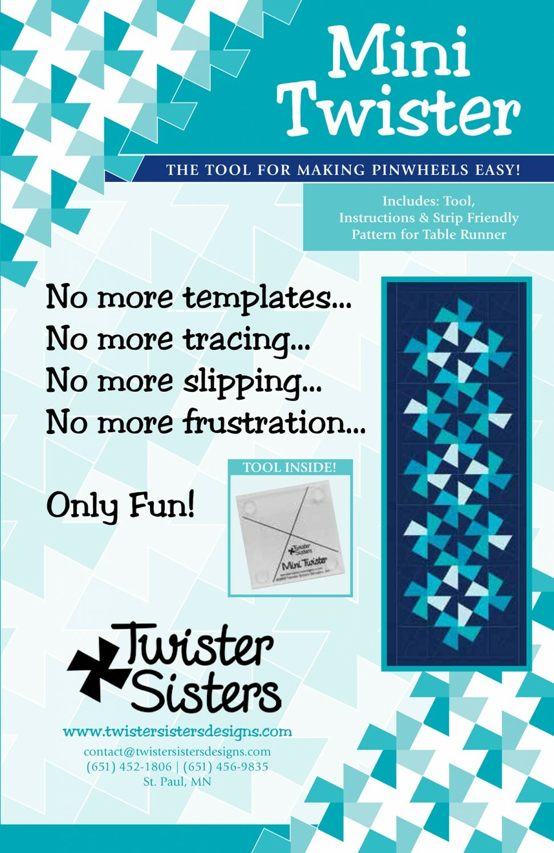 Mini Twister Template 56599