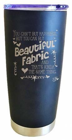 Beautiful Fabric Tumbler 56610