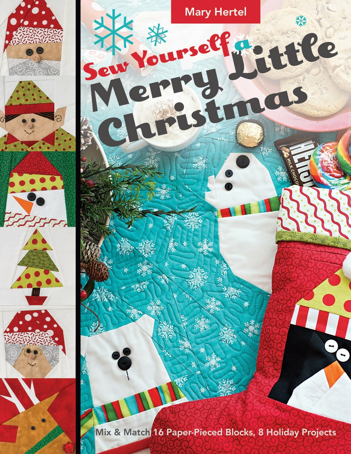 Sew Yourself a Merry Little Christmas Book 56616