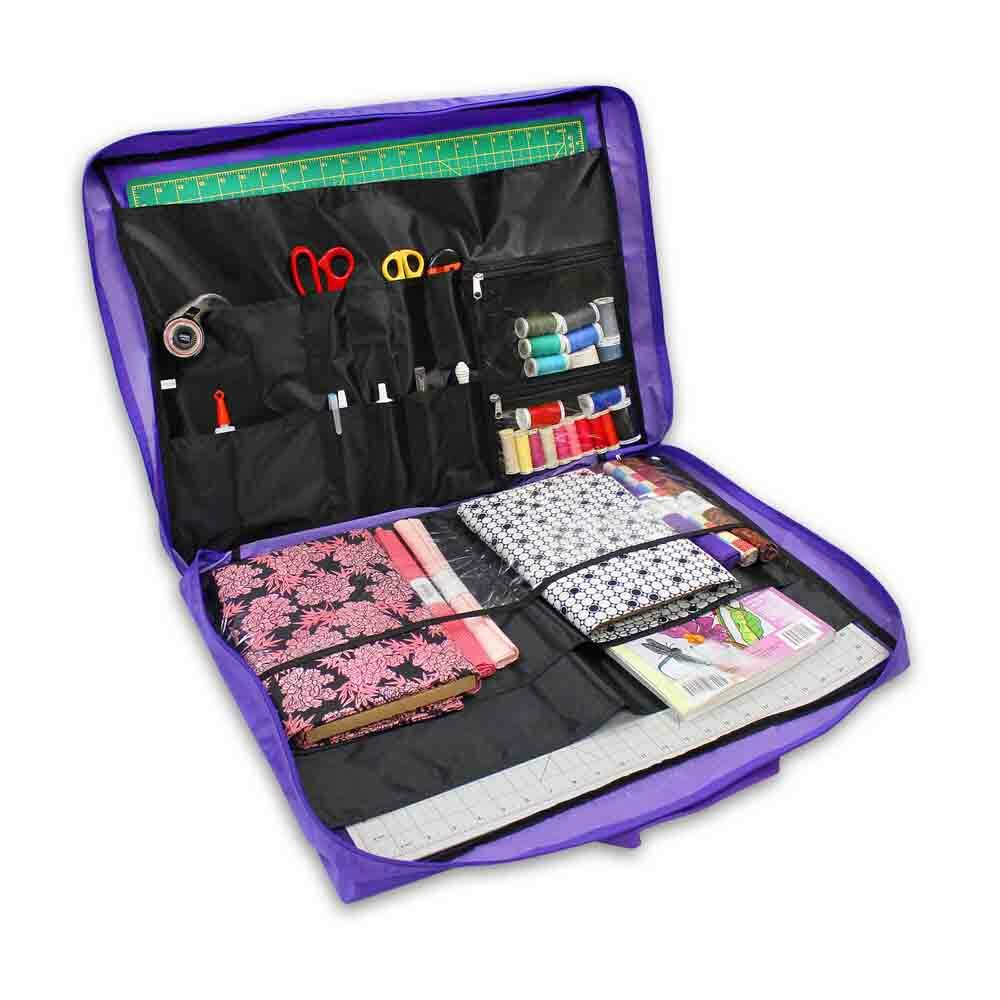Quilting Accessory Bag - Purple