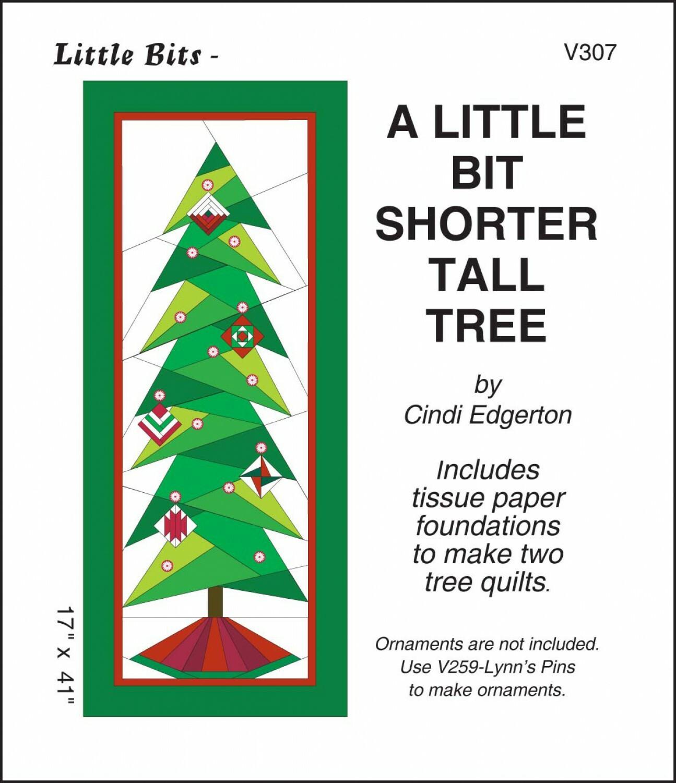 A Little Bit Shorter Tall Tree Paper Piecing Pattern 56640