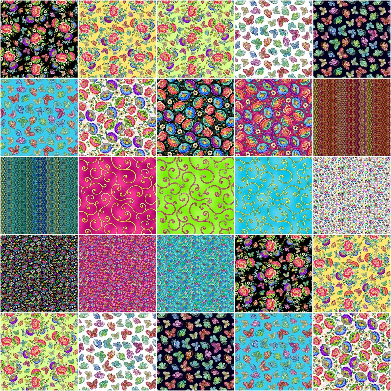 Dazzling Garden Jelly Roll 56654