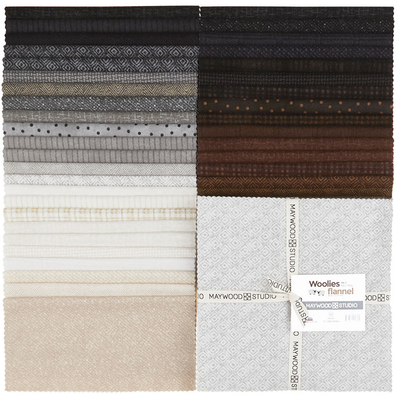 Woolies Flannel Layer Cake - Neutrals Vol. 2 56651