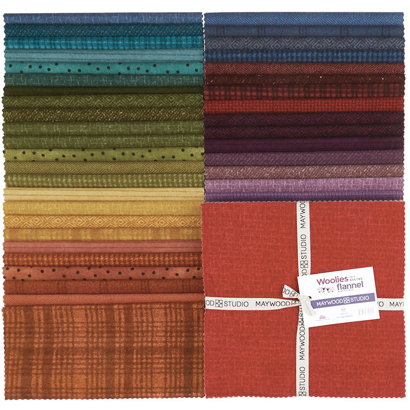 Woolies Flannel Layer Cake - Colours Vol. 2 56653