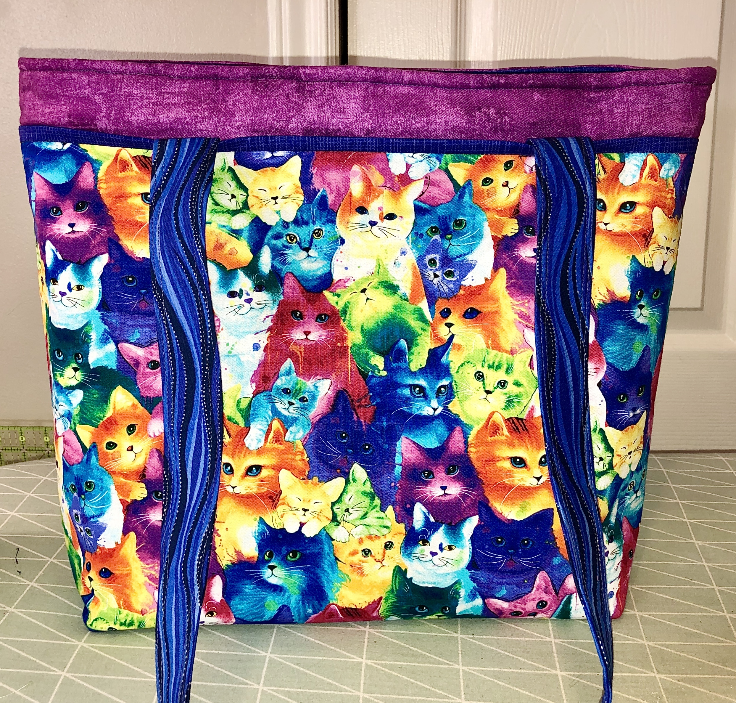 Zippered Tote Bag - ONLINE CLASS 56670