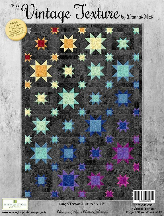 Ombré Star Quilt - Winter 2021 - ONLINE CLASS 56671