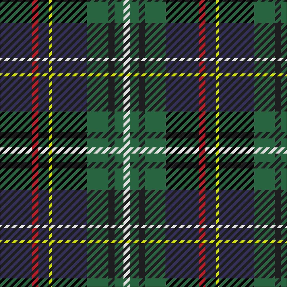 Yarn Dyed Flannel - Green Plaid - 1/2m cut 56723
