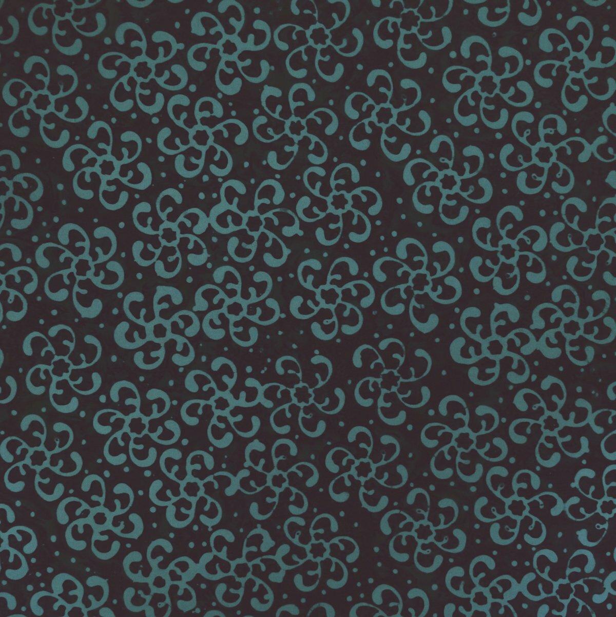 Chrysocolla - Blue Cue - Batik - 1/2m cut 56783