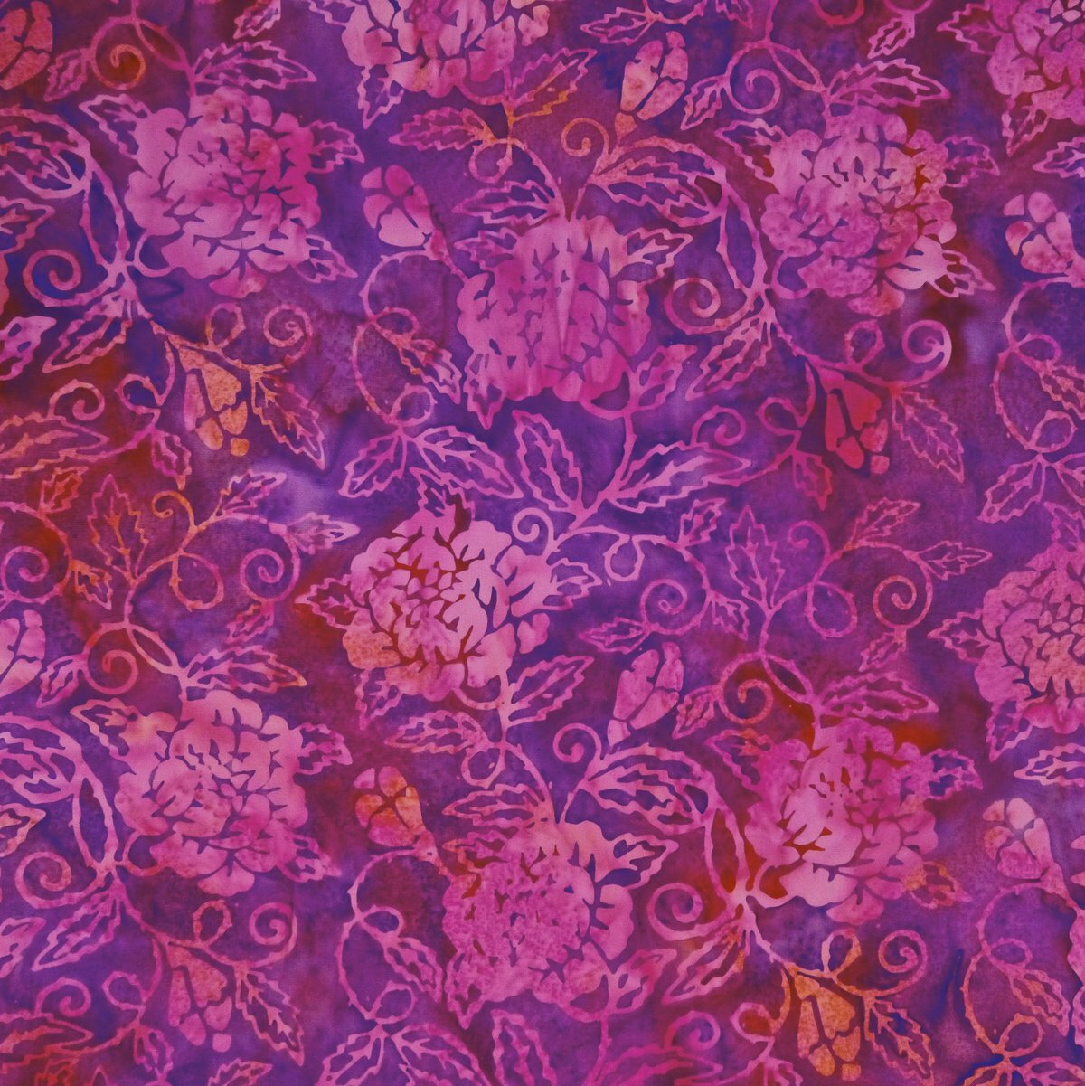 Punch Tale - Citrine Delight - Batik - 1/2m cut 56776