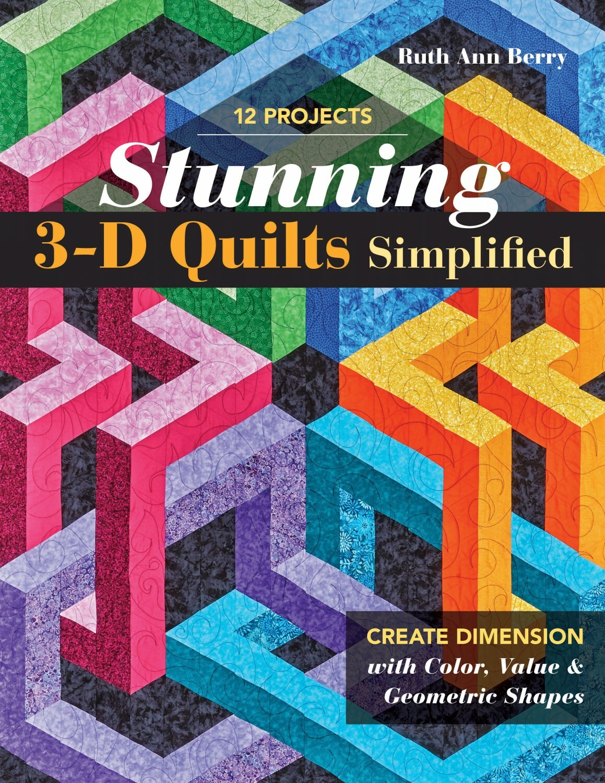 Stunning 3-D Quilts 56803