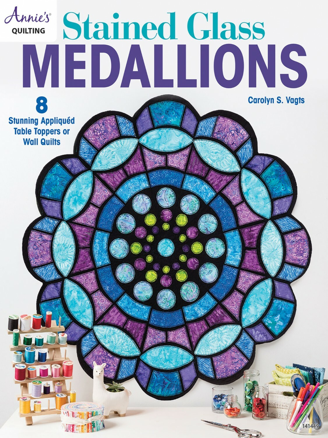 Stained Glass Medallion Quilts 56804
