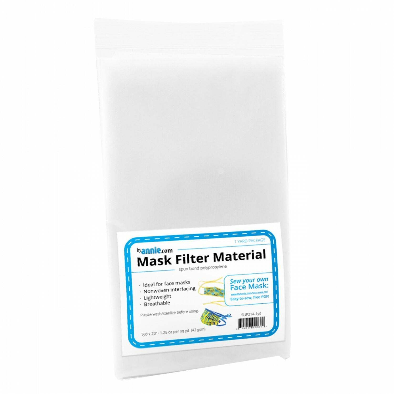 "Mask Filter Material - 20"" x 1 yard 56822"