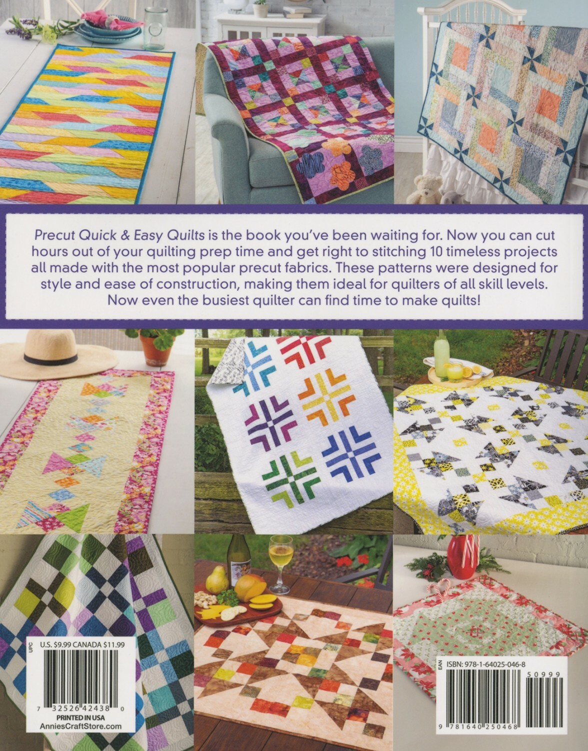 Precut - Quick and Easy Quilts