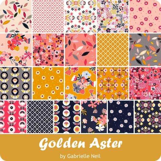 Golden Aster Charm Pack 56891
