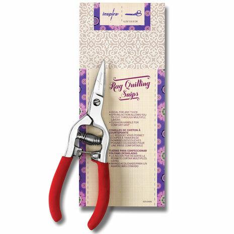 """INSPIRA® 6.25"""" Rag Quilt Snip Scissors 56916"""