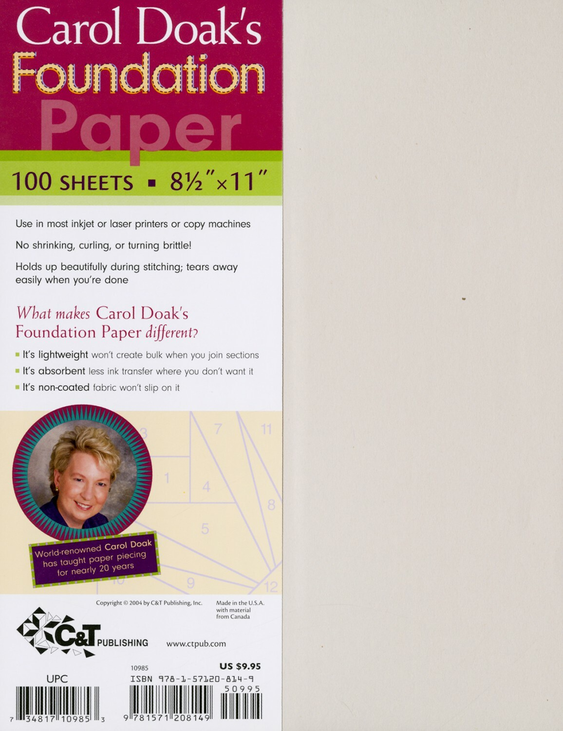 Foundation Paper - 100 sheets 56938