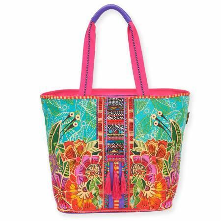 Laurel Burch Bag - Gatos Floral 56943