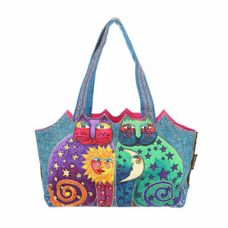 Laurel Burch Bag - Celestial Felines 56942