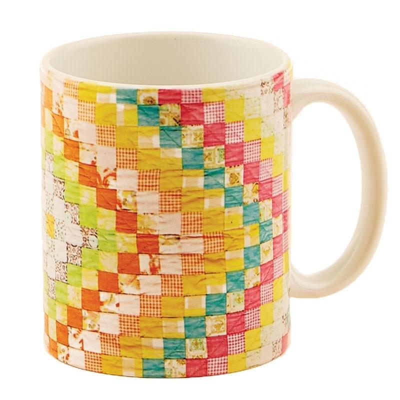 Vintage Quilt Mug 56958