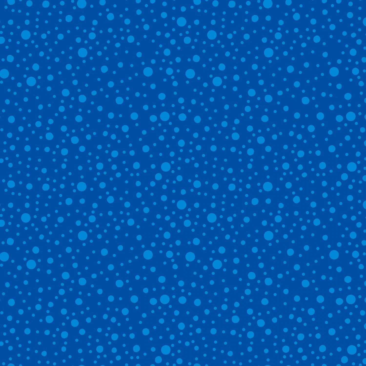 Medium Blue Dotty Dots - Wilmington Fabrics - 1/2m cut 56992