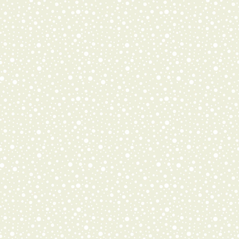Cream Dotty Dots - Wilmington Fabrics - 1/2m cut 56986