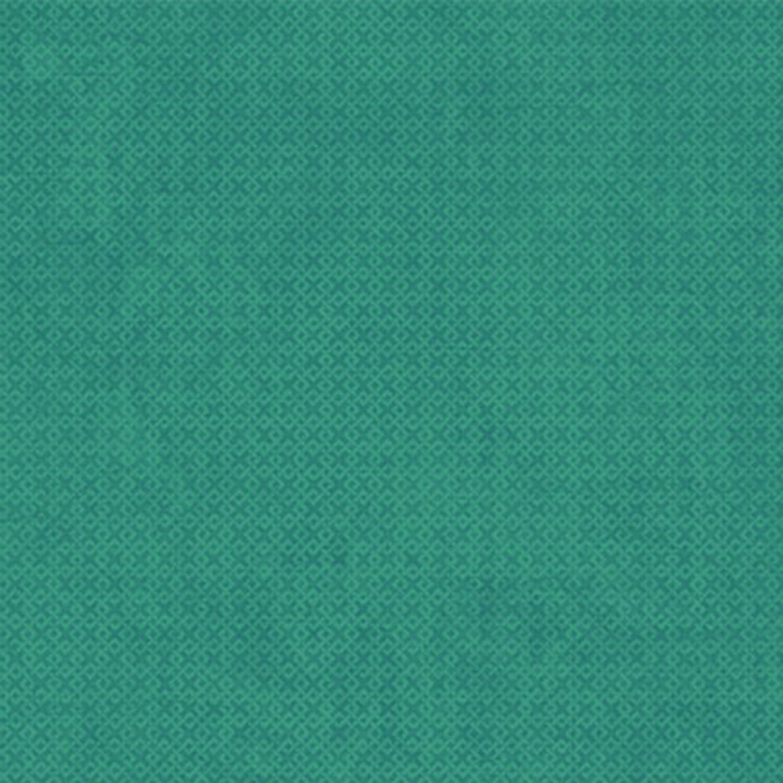 Teal Criss Cross - Wilmington Fabrics - 1/2m cut 56999