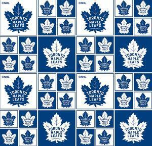 NHL Fabric - Toronto Maple Leafs - 1/2m cut 57010