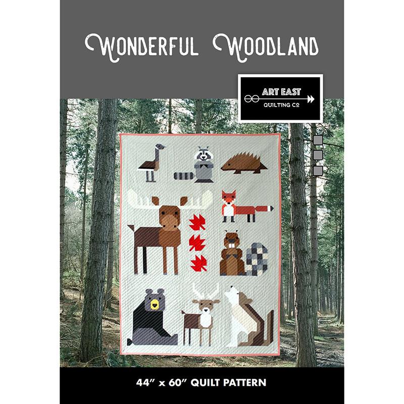 Wonderful Woodland Pattern 57016