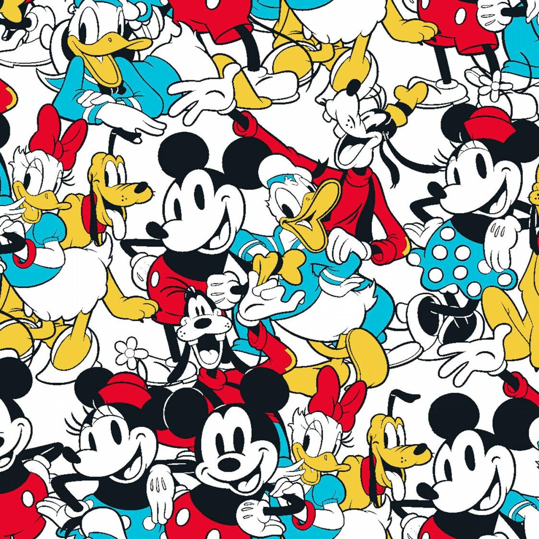 Mickey & Friends - 1/2m cut 57018