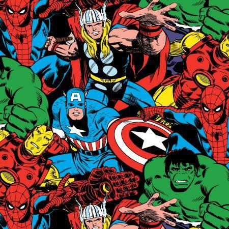 Marvel Avengers - 1/2m cut 57024