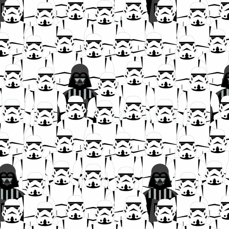 Storm Troopers - Star Wars - 1/2m cut 57037
