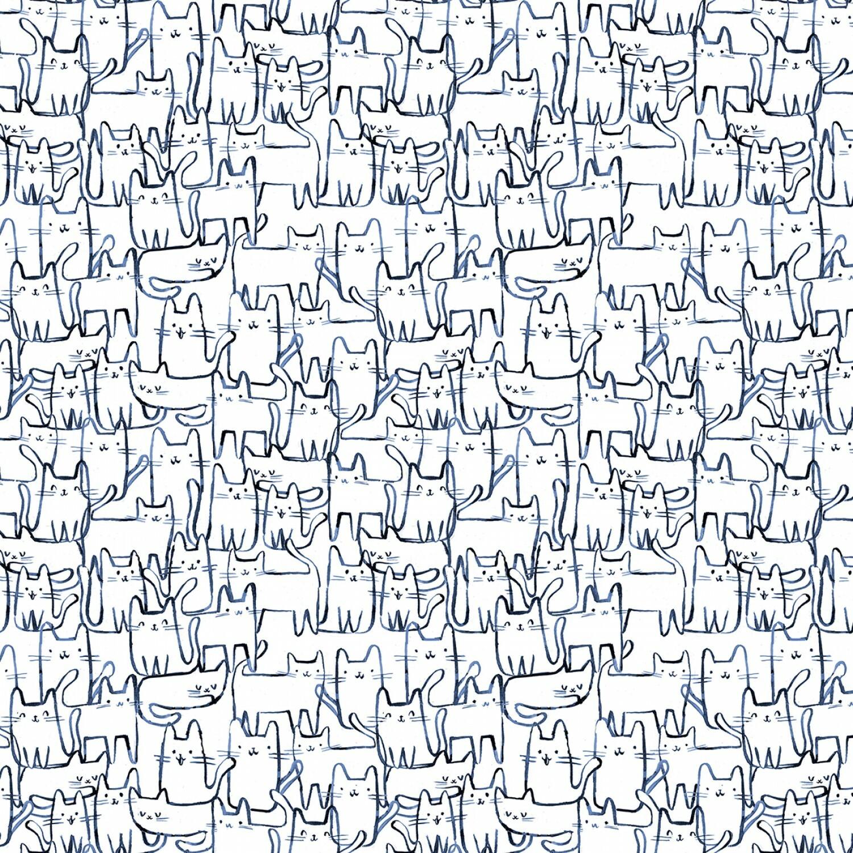Creative Cats - 1/2m cut 57055